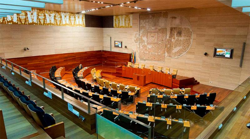 La Asamblea de Extremadura aprueba en sesión plenaria, la Ley de Memoria Histórica y Democrática de Extremadura