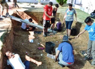 Campo de Trabajo sobre «Recuperación de la Memoria Histórica» del Consejo de la Juventud de la Junta de Extremadura
