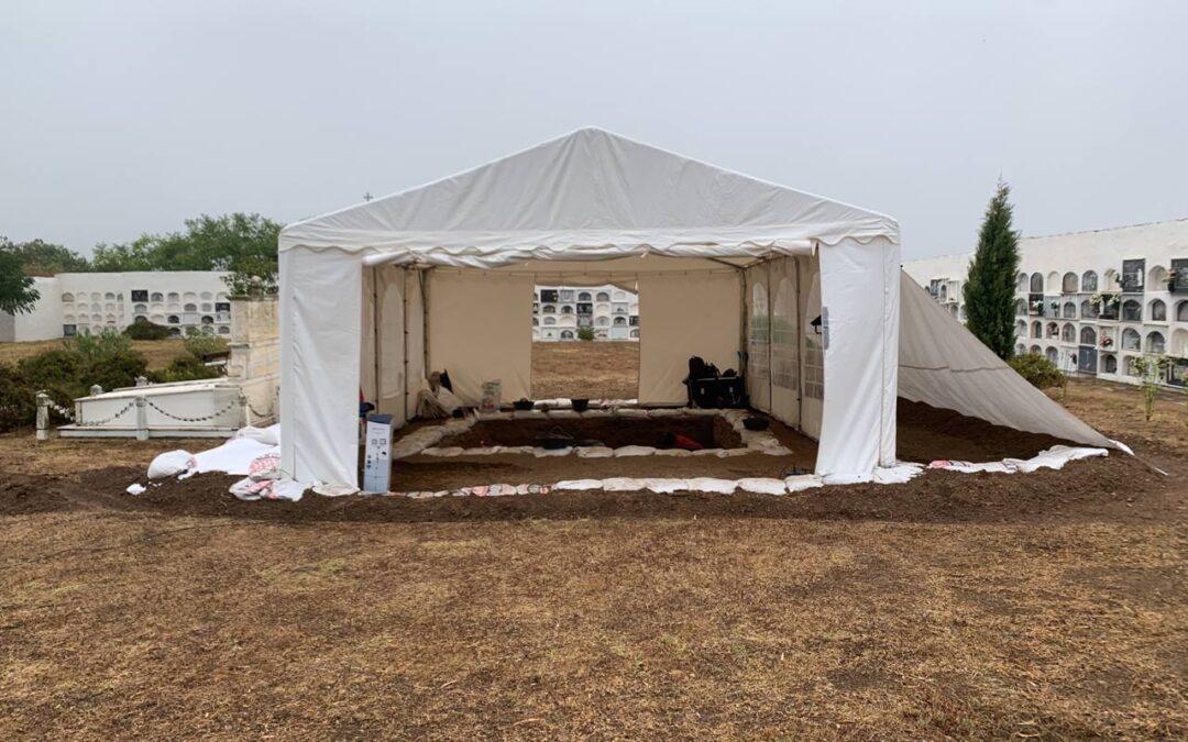 Intervenciones de búsqueda, localización y exhumación de fosas comunes en Extremadura en 2021